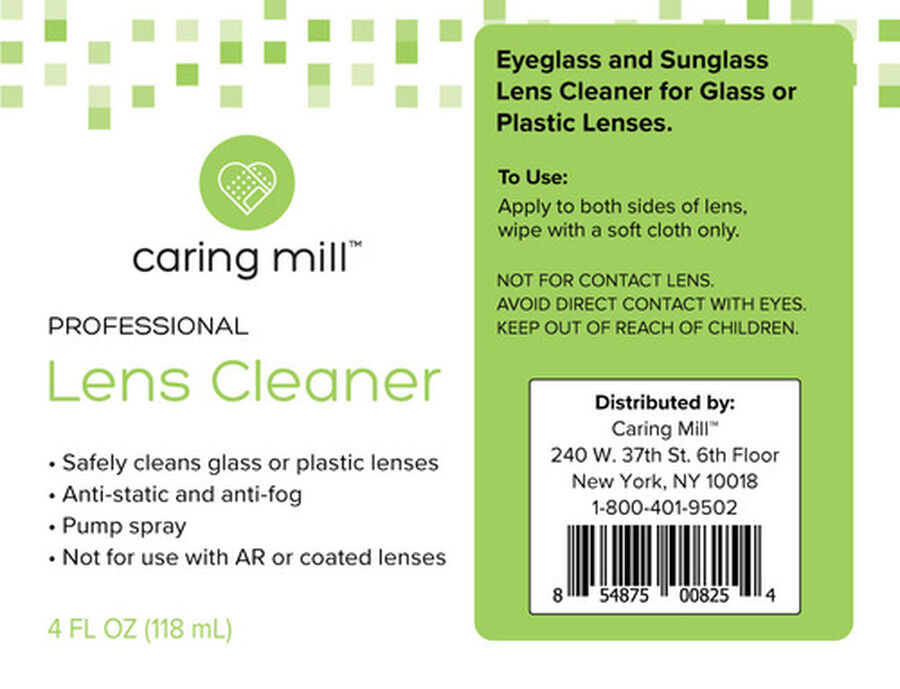 Caring Mill™ Lens Cleaning Spray 4 oz, , large image number 1