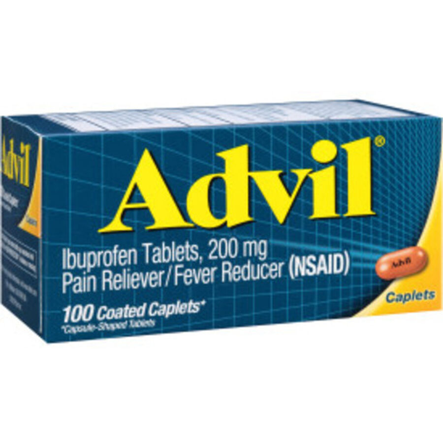Advil Pain Reliever and Fever Reducer Coated Caplets, 200mg, 100 ct, , large image number 9