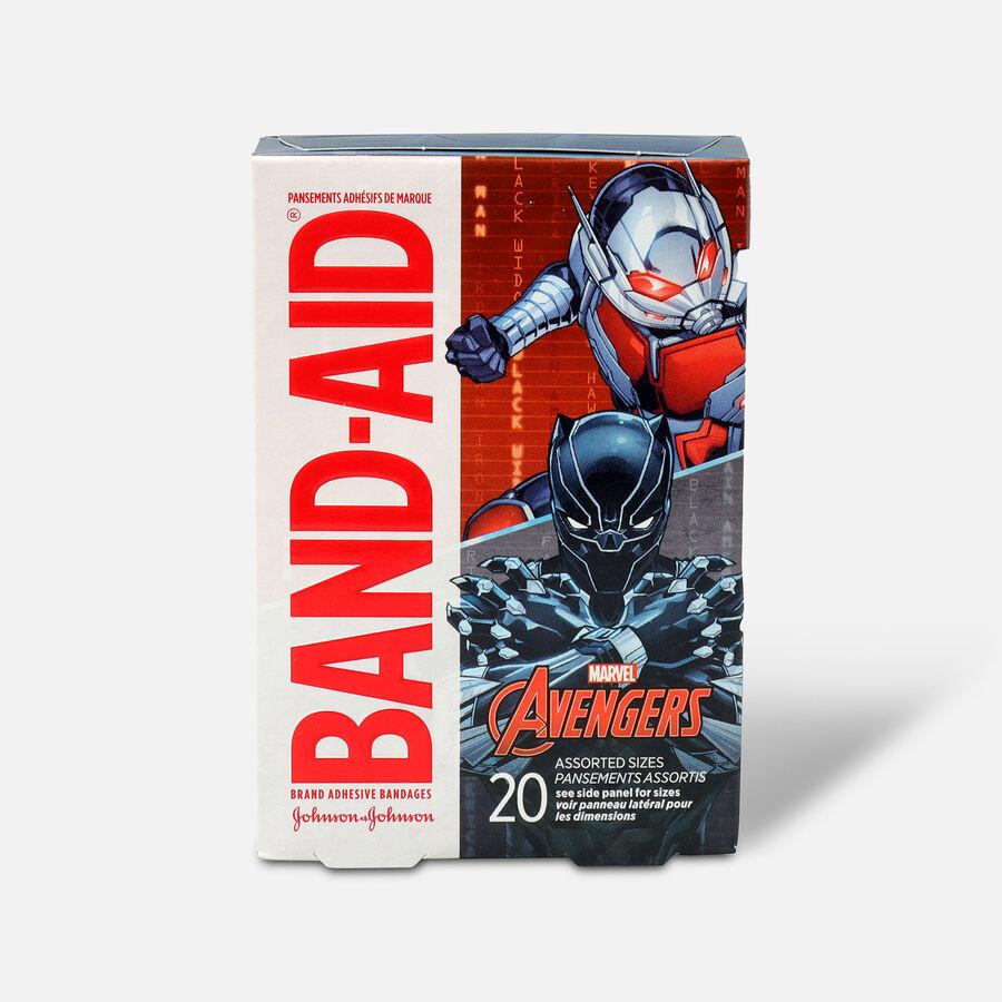Band-Aid Adhesive Assorted Bandages Marvel Avengers, 20 ct., , large image number 1