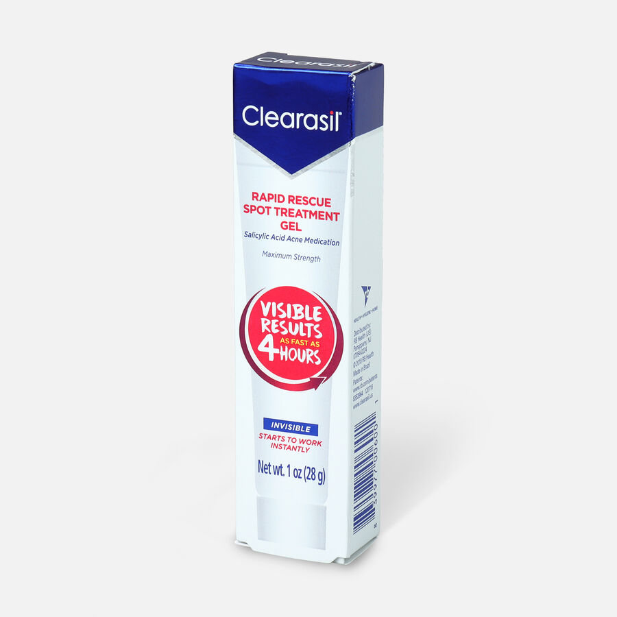 Clearasil Rapid Rescue Acne Spot Treatment Gel, 1oz., , large image number 2