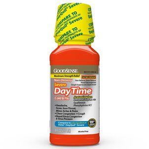 GoodSense® Daytime Cold & Flu Non Drowsy Severe 8 oz