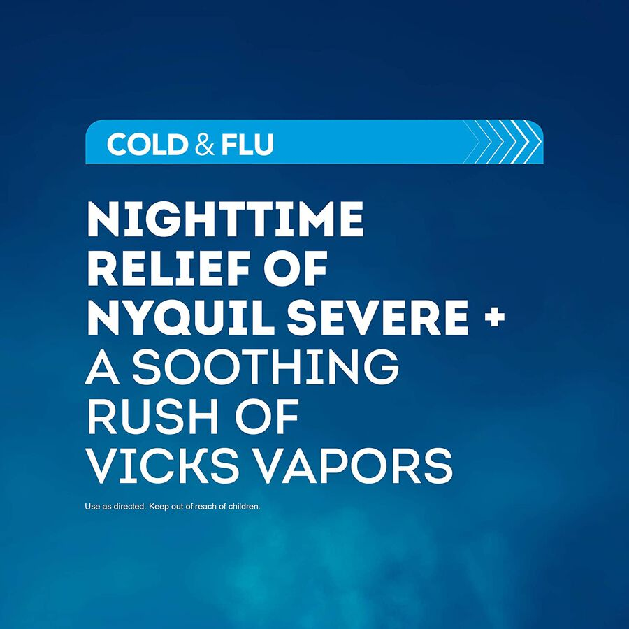Vicks NyQuil Vapocool Liquid, 12 oz, , large image number 3