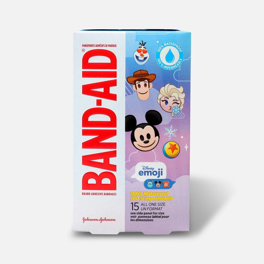 Band-Aid Disney Emoji Waterproof Bandages - 15ct, , large image number 1