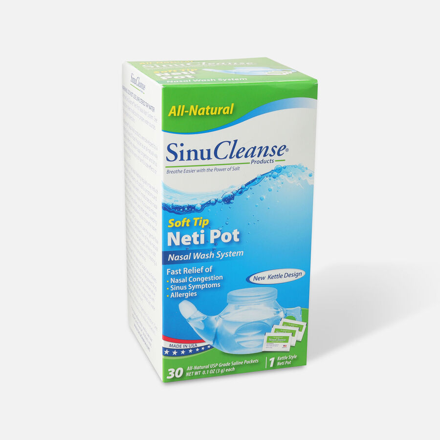 SinuCleanse Neti Pot All Natural Nasal Wash System, 1 ea, , large image number 2