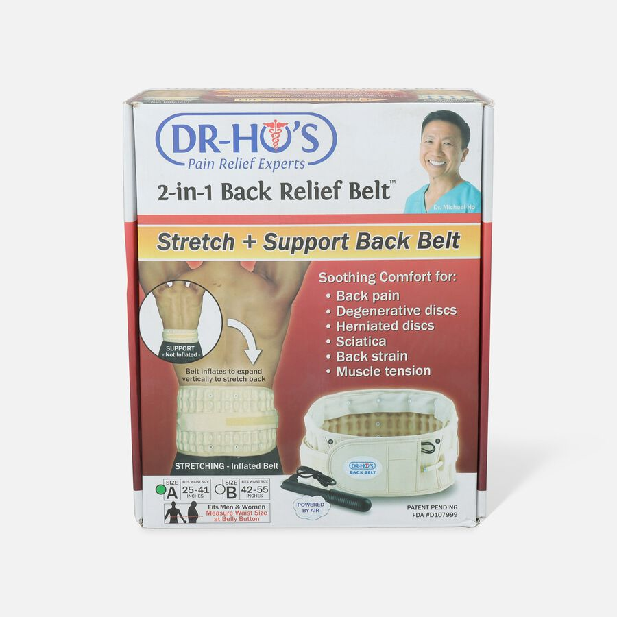 Dr-Ho's 2-in-1 Back Decompression Belt (Size A 25 to 41 inches), , large image number 0