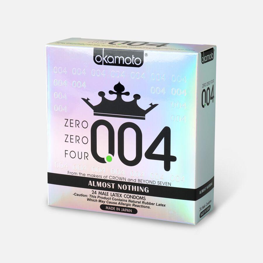 Okamoto .04 mm Zero Zero Four Condoms, 24 ct, , large image number 2