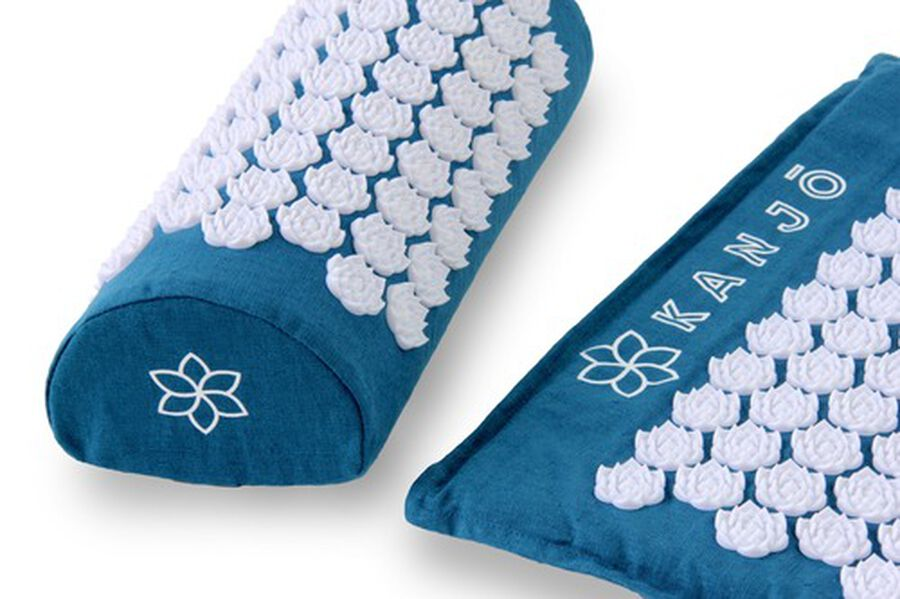 Kanjo Memory Acupressure Mat Set with Pillow, Sapphire, , large image number 5