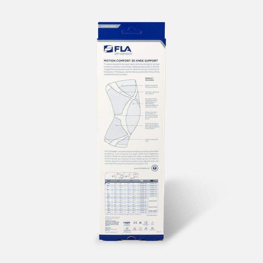 FLA Orthopedics ProLite 3D Knee Support, Large, , large image number 1