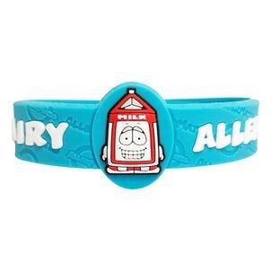 AllerMates Children's Allergy Alert Bracelet - Dairy