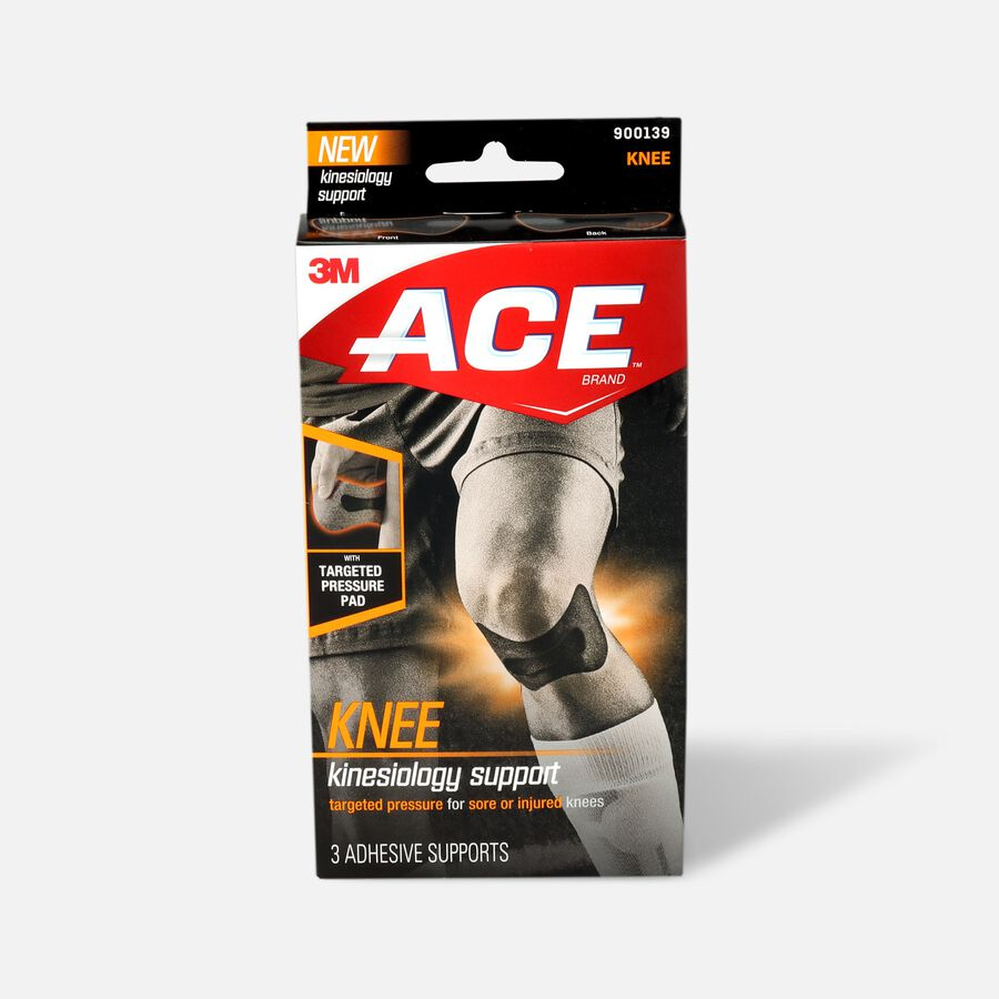 ACE Kinesiology Knee Support, , large image number 0