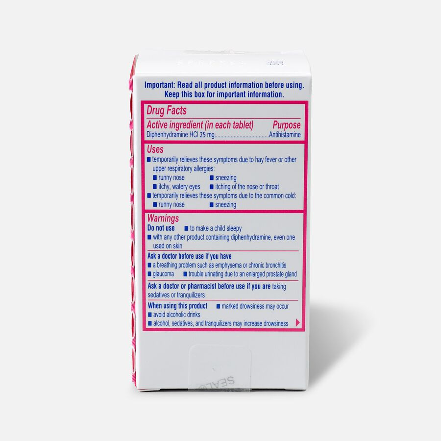 Benadryl Ultra Allergy Relief Tablets, 100 ct, , large image number 1