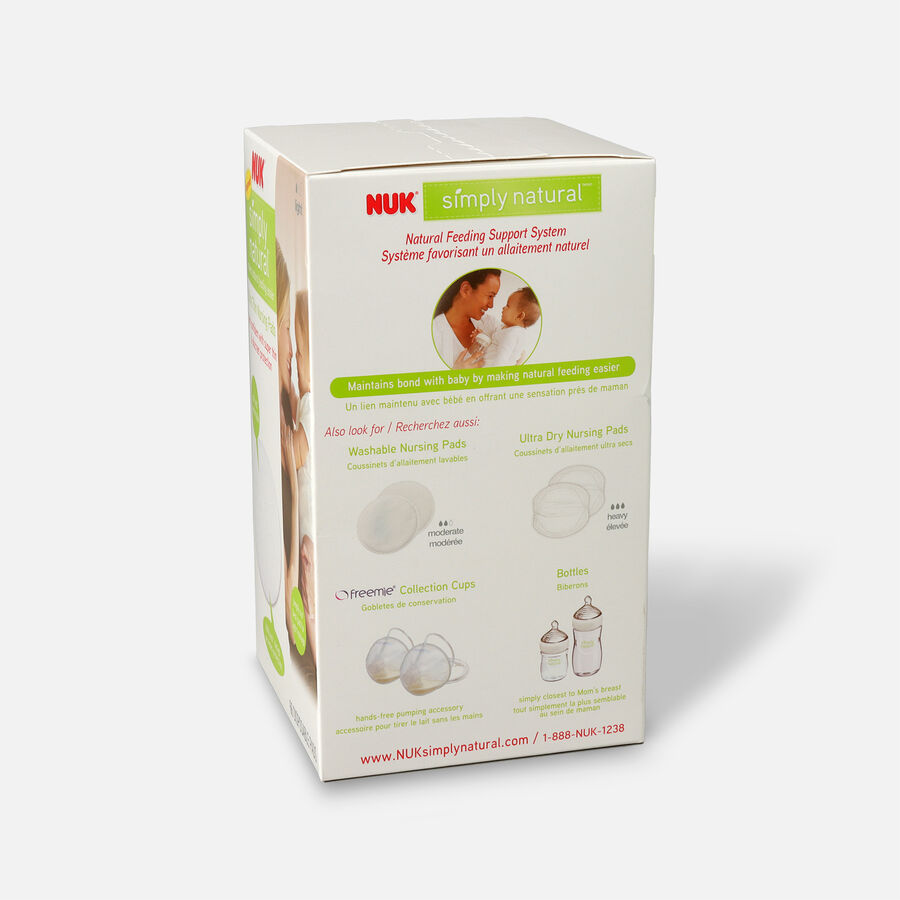NUK® Ultra Thin Nursing Pads, 60 + 6 ea, , large image number 1