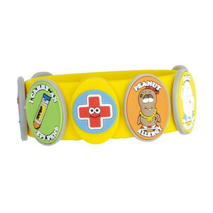 AllerMates Children's Allergy Charm Bracelet - Food Allergy