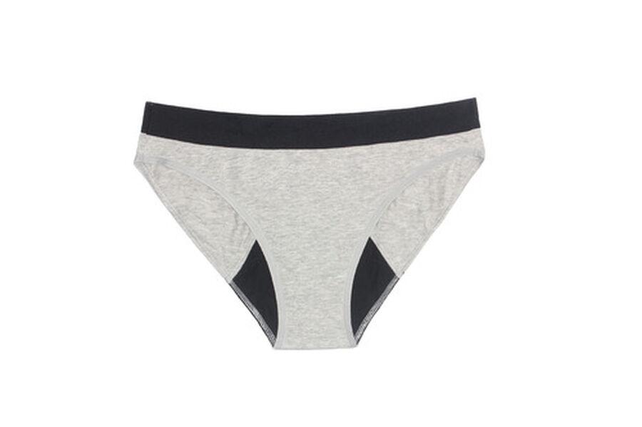 Thinx Period Proof Cotton Bikini, , large image number 1