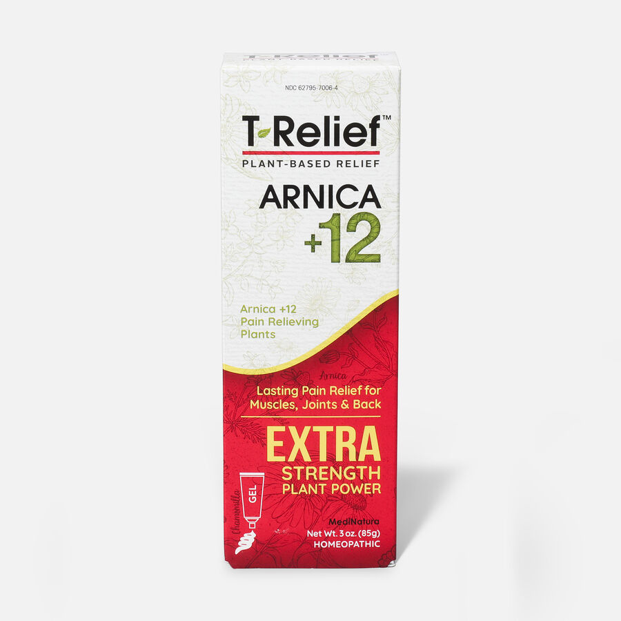 T-Relief Extra Strength Pain Relief Gel, 3 oz, , large image number 1