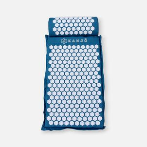Kanjo Memory Acupressure Mat Set with Pillow, Sapphire