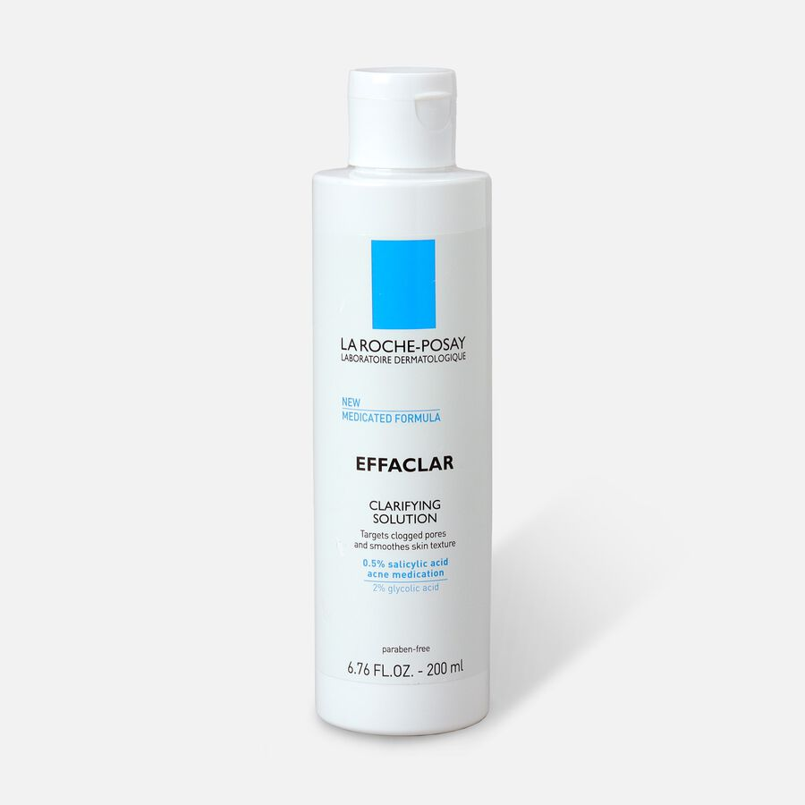 La Roche-Posay Effaclar Clarifying Solution Acne Toner with Salicylic Acid, 6.76oz, , large image number 0