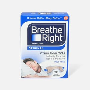 Breathe Right, Tan Strips, Large, 30 ct.