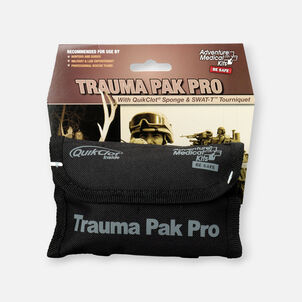 Adventure Medical Trauma Pack Pro with Advanced Clotting Sponge & Swat-T