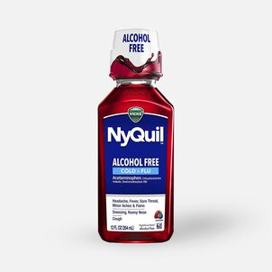 Vicks Nyquil Cold & Flu, Alcohol Free, 12 oz