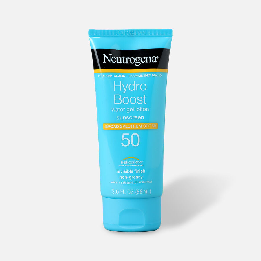Neutrogena Hydro Boost Water Gel Non-Greasy Sunscreen Lotion, 3 fl. oz, , large image number 0