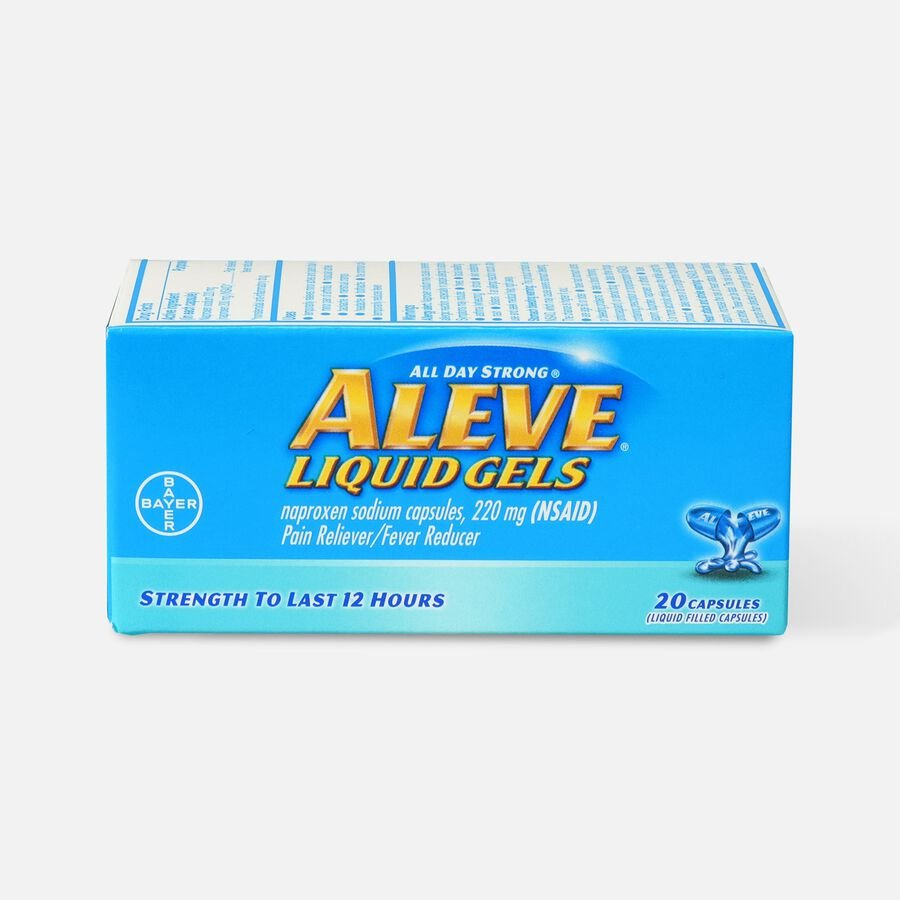 Aleve Liquid Gels Pain Reliever/Fever Reducer, , large image number 0