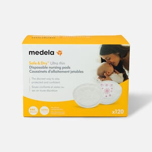 Medela Safe and Dry Thin Disposable Nursing Pad