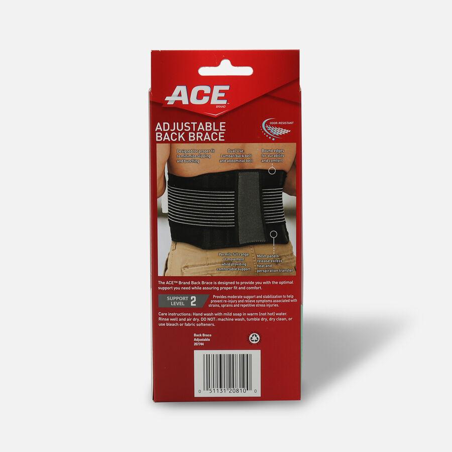 ACE Adjustable Back Brace, , large image number 1