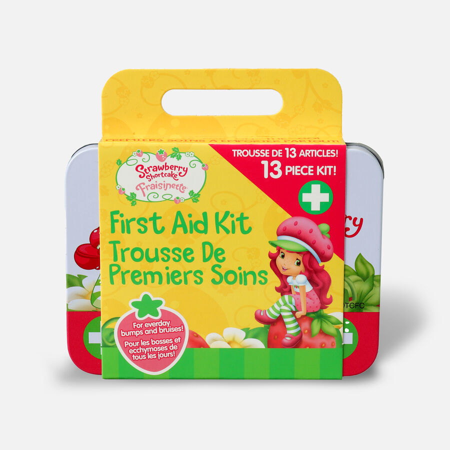 Strawberry Shortcake 13 Pc First Aid Kit, , large image number 0