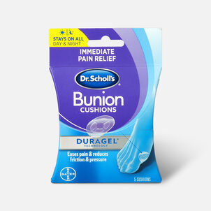 Dr. Scholl's Duragel Bunion Cushion, 5 Count