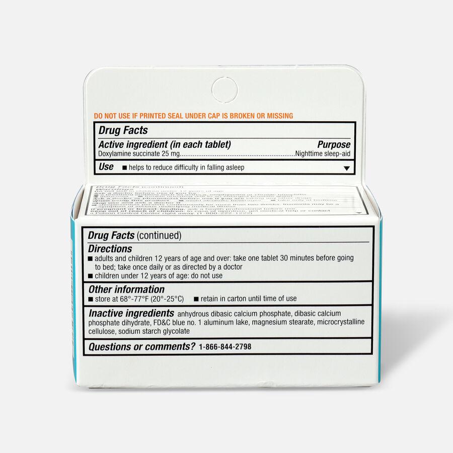 Unisom SleepTabs, Nighttime Sleep-Aid Tablets, 48 ea, , large image number 1
