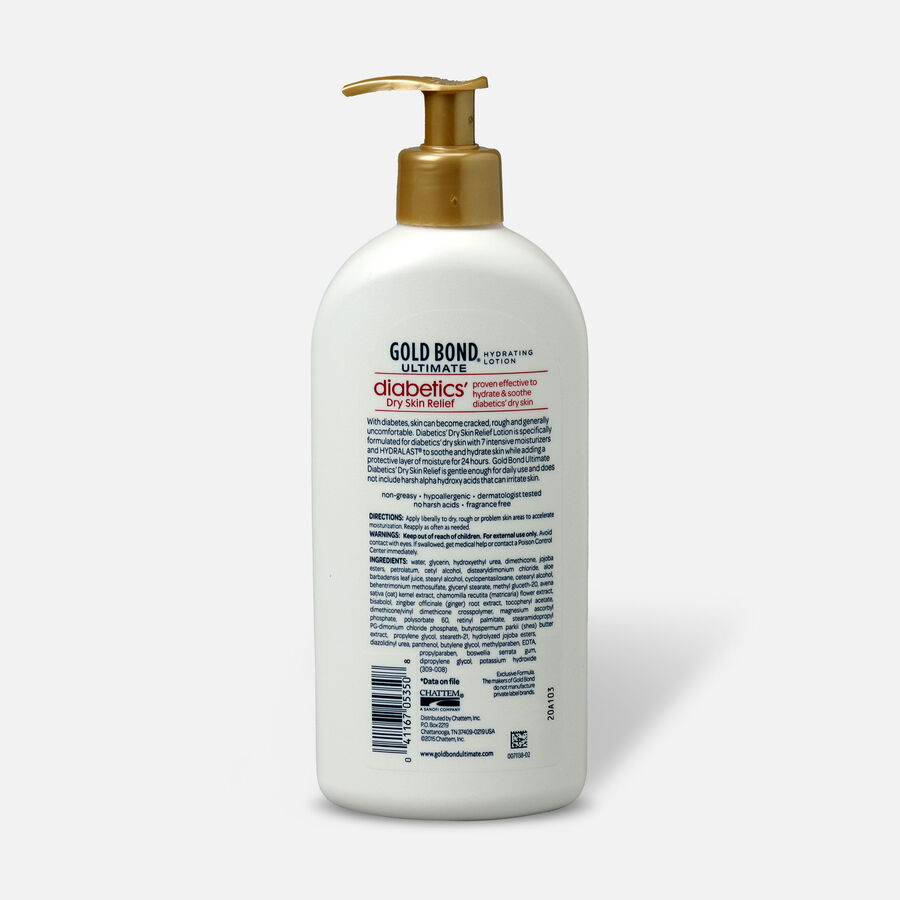 Gold Bond Diabetic Skin Relief Lotion, 13 Ounce, , large image number 1
