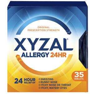 Xyzal Allergy 24 HR Tablets, 35 ct