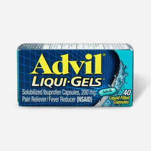 Advil Pain Reliever Fever Reducer Liqui-Gels, 40 ct