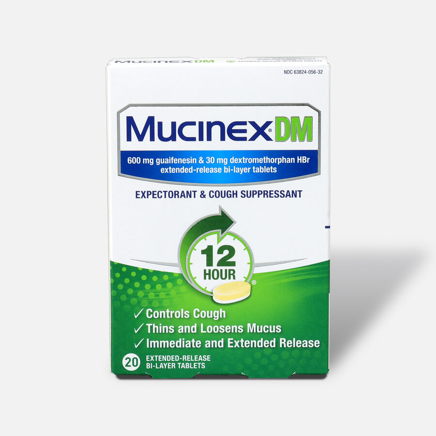 Mucinex Extended Release Bi-Layer Tablets, 20 ct, , large image number 0