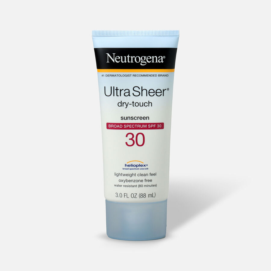 Neutrogena Ultra Sheer Dry-Touch Sunscreen SPF 30, 3 oz, , large image number 0