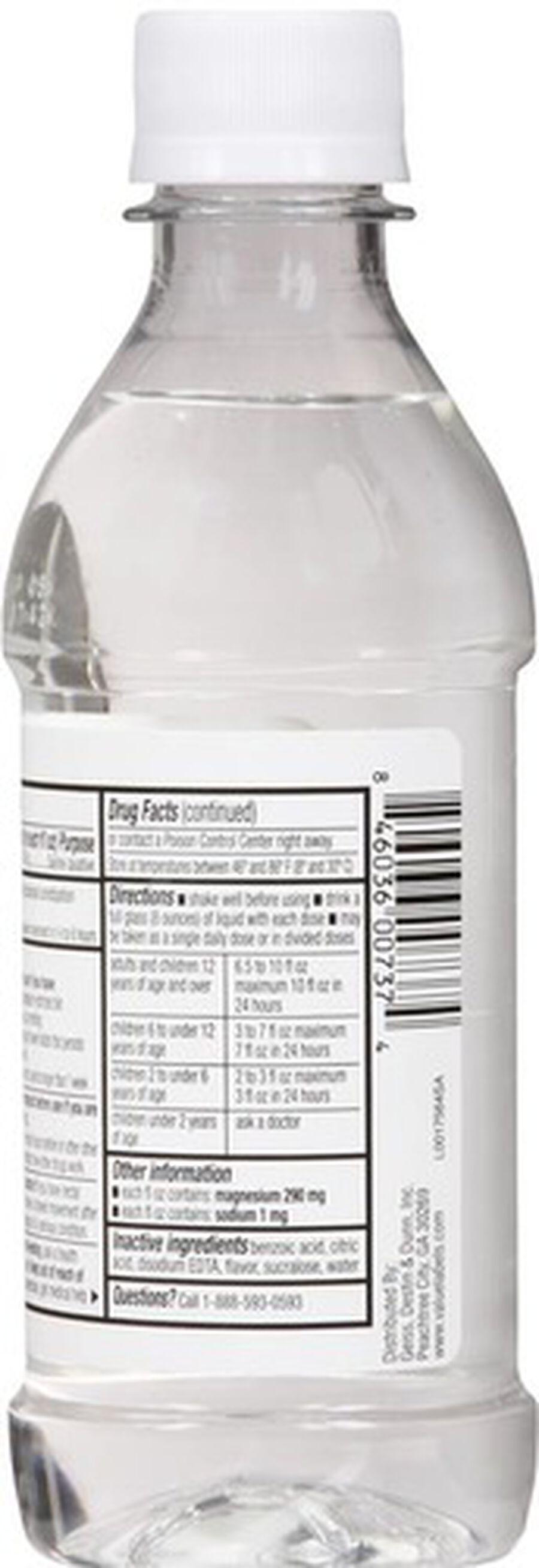 GoodSense® Cirtrate Magneisum Dye- Free Lemon, 10 oz, , large image number 2
