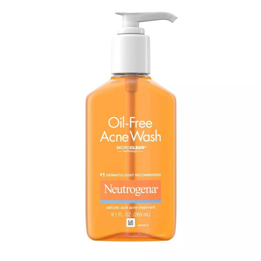 Neutrogena Oil-Free Acne Wash 9.1 fl oz, , large image number 0