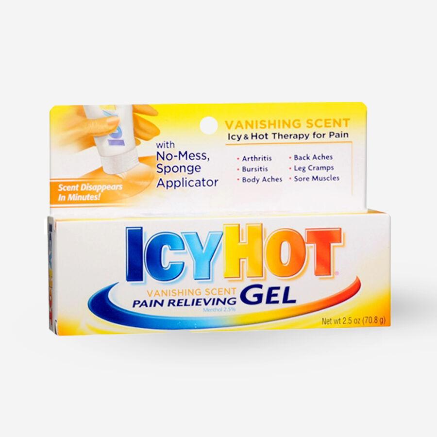 Icy Hot Vanishing Scent Gel, 2.5 oz, , large image number 0