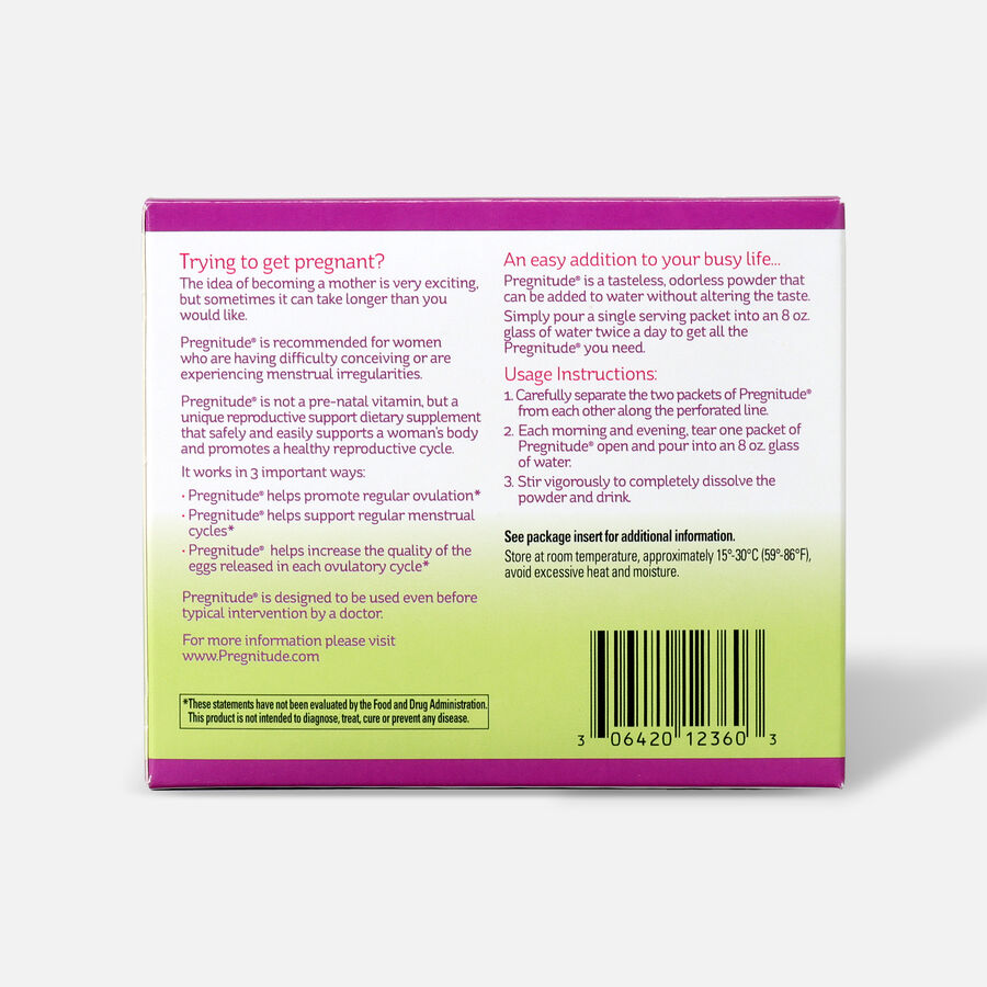 Pregnitude Reproductive Support Dietary Supplement, , large image number 1