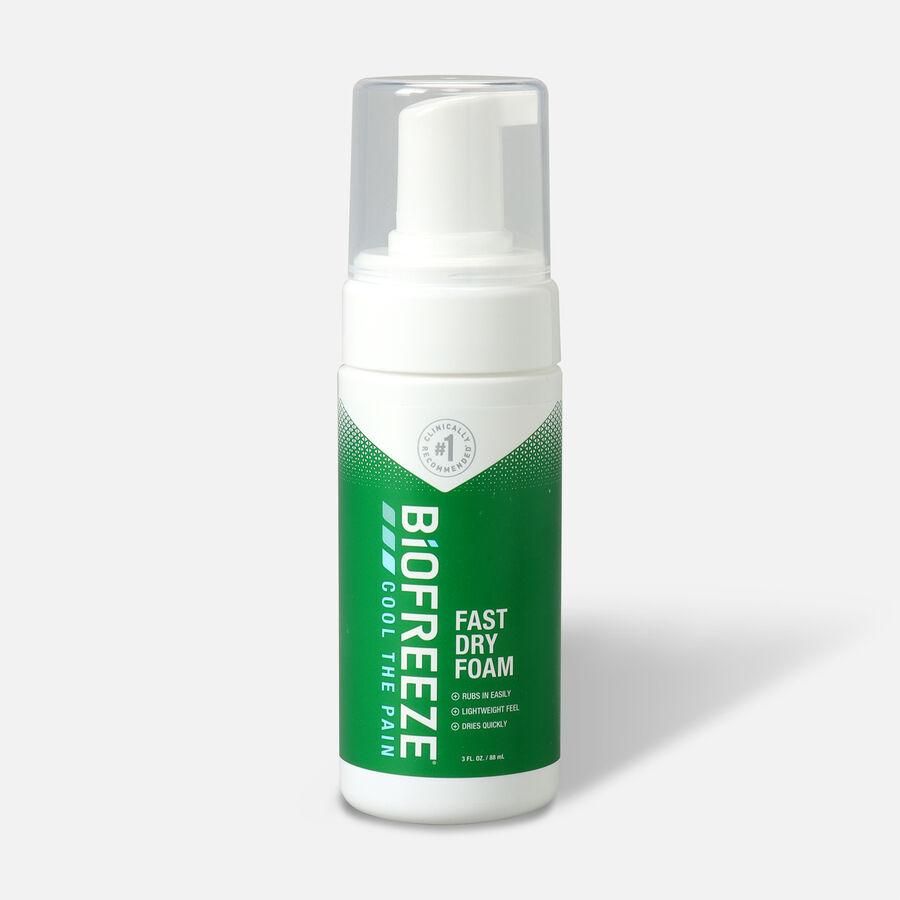 Biofreeze Pain Relief Foam, 3 oz, , large image number 0