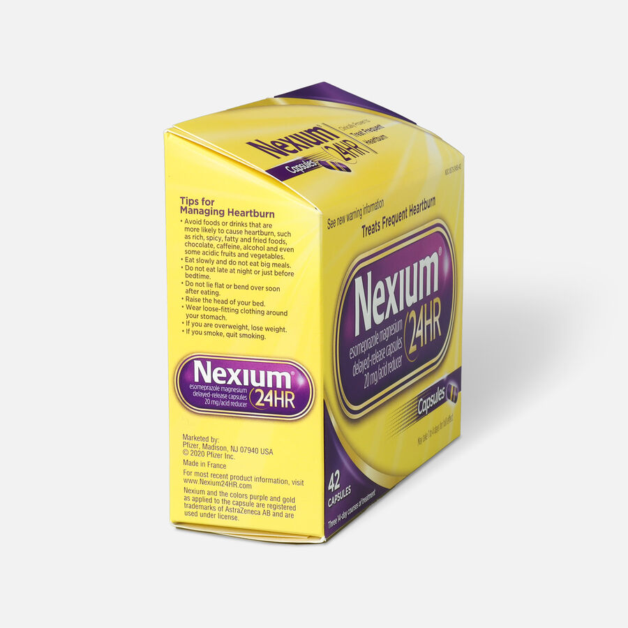 Nexium 24HR Capsules, 42 ct, , large image number 3