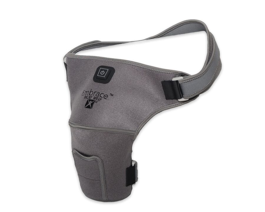 Battle Creek Embrace ™ Relief Shoulder Wrap – Portable, 3 Temperature Settings, Auto Shut Off, Wireless & Rechargeable Wrap, Battery-Operated Heat Therapy Wrap for Rotator Cuff and Shoulder Pain Relief, , large image number 5