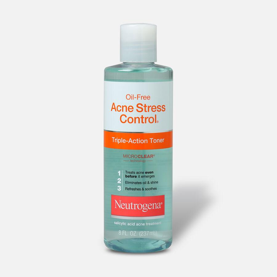 Neutrogena Oil-Free Acne Stress Control Triple-Action Toner, 8oz., , large image number 0