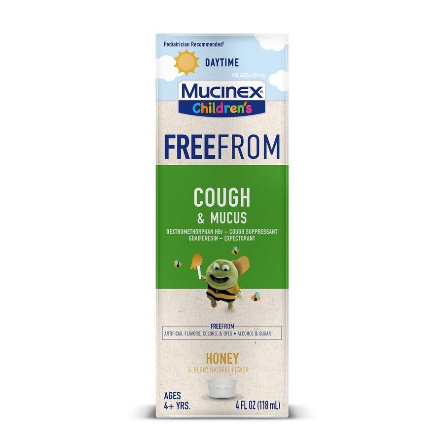 MUCINEX Children's Liquid Cough and Mucus, , large image number 0