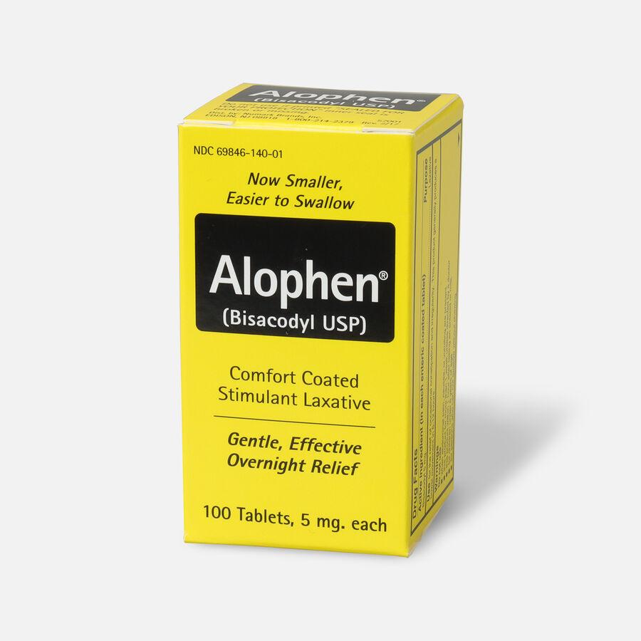 Alophen Bisacodyl Laxative Tablets, 5mg, 100 ct, , large image number 2