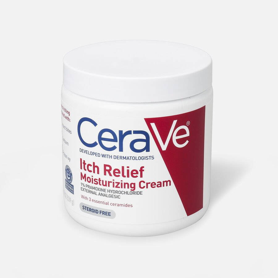 CeraVe Moisturizing Cream for Itch Relief, , large image number 2