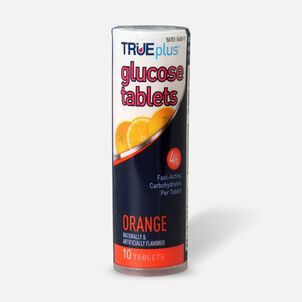 TRUEplus Glucose Tab 10ct- Orange