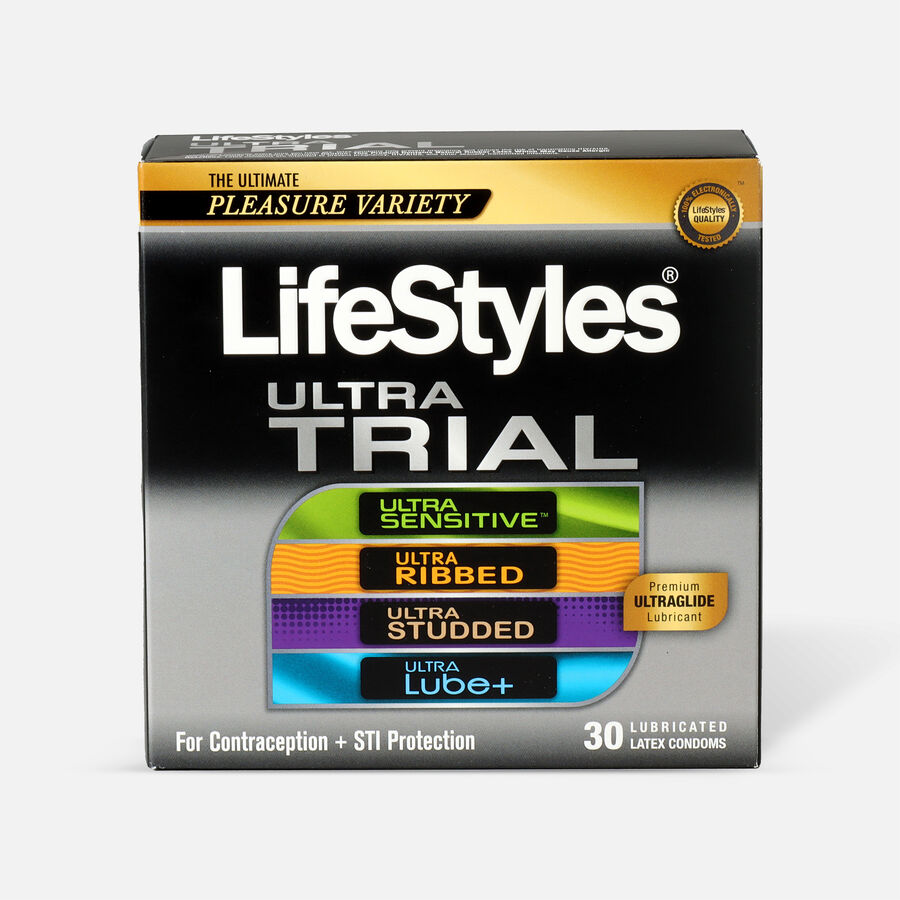LifeStyles Ultra Latex Condom Trial Pack, 30 Count, , large image number 0
