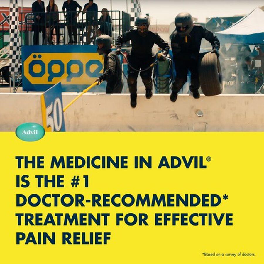 Advil Pain Reliever Fever Reducer Mini Liquid Gels, 80 ct, , large image number 6